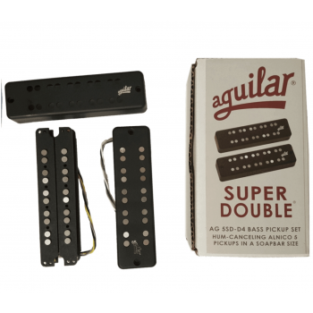 Aguilar AG5SD-D4 Super Doble 5 Cuerdas Tipo D4 Set 2 Pastillas Bajo Eléctrico