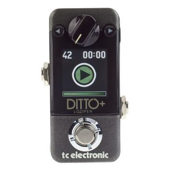 Tc electronic Ditto + Looper, Pedal Efectos