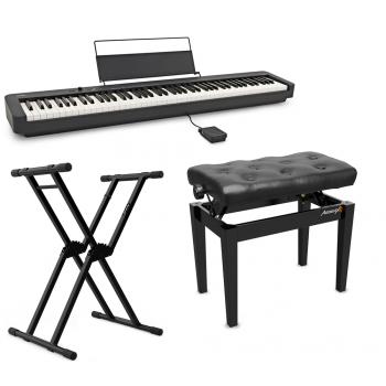CASIO CDP-S100Bk Piano Digital + Soporte Onyx 150 Easy-Block + Banqueta KB500