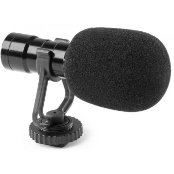 VONYX CMC200 Micrófono de Condensador para Teléfono o Cámara 173410