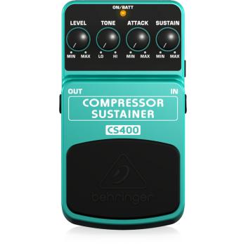 BEHRINGER CS400 Pedal  Guitarra Efecto Compresor