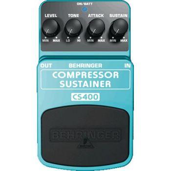 BEHRINGER Pedal  Guitarra Efecto Compresor CS400 Behringer CS-400