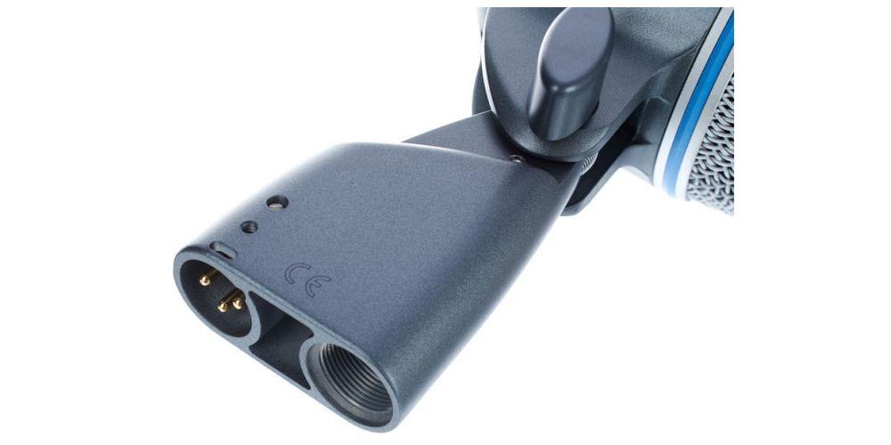 shure beta 52a micrófono para bombo conexion