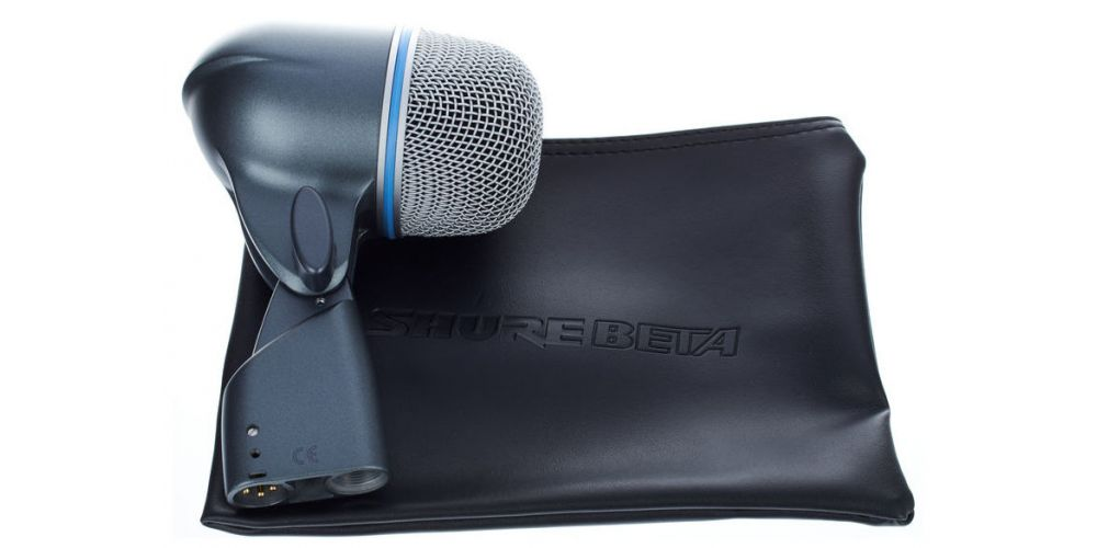 shure beta 52a micrófono para bombo funda