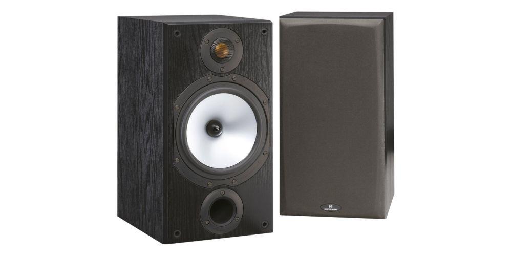 Monitor Audio mr2 black altavoces 2 vias
