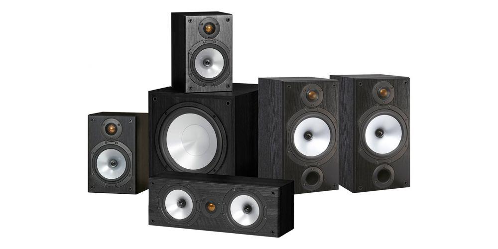 monitor audio mr2 av 5 1 altavoces home cinema
