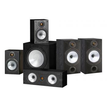 MONITOR AUDIO Kit  Negro  MR2 + MR1 + MRCENTER + MRW10,  POWER 2
