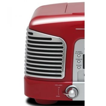 TEAC SL-D930R Micro Cadena Retro, Rojo