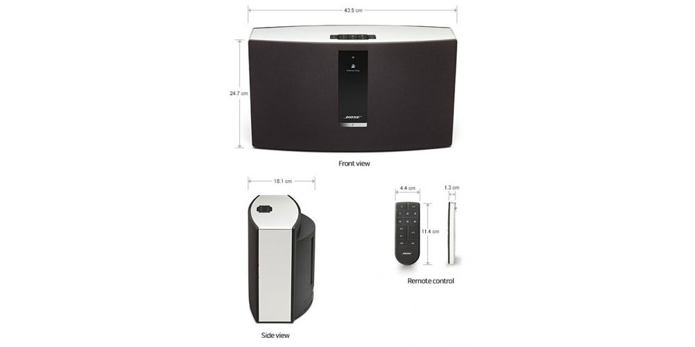 BOSE SOUNDTOUCH 30 BK Negro  AIRPLAY