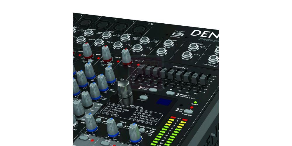 DENON DN408X Mezclador 8 Canales
