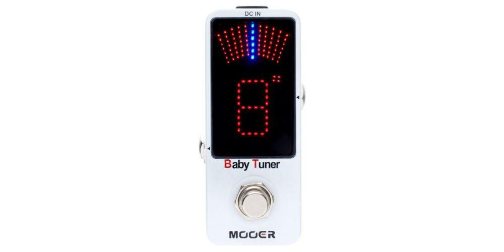 mooer baby tuner front