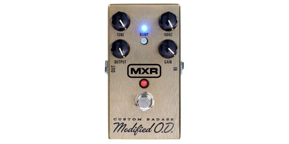 dunlop mxr m77 custom badass modified od front
