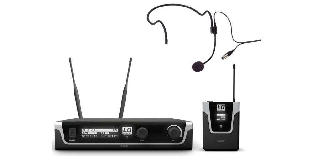 comprar micro diadema LDsystems LDU508BPH