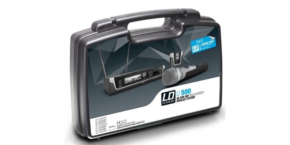 LD SYTEMS U508 BPH Micrófono Inalámbrico de Diadema