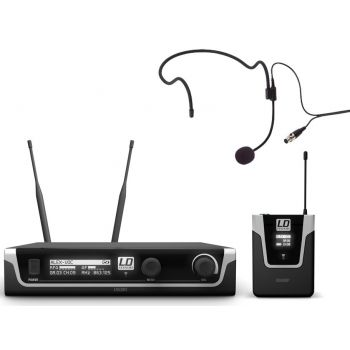 LD SYSTEMS U508 BPH Micrófono Inalámbrico de Diadema
