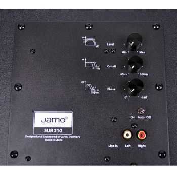 Jamo SUB 210 Black Subwoofer