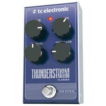 TC Electronic Thunderstorm Flanger Pedal de Efectos