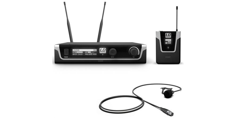 microfono diadema ldsystems U506BPL