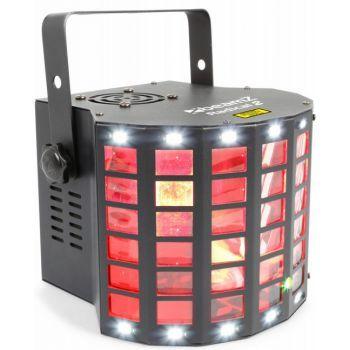 BEAMZ Radical II Derby LED con laser RG y strobo 153711