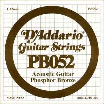 D´addario PB052 Cuerda Suelta para Guitarra Acústica