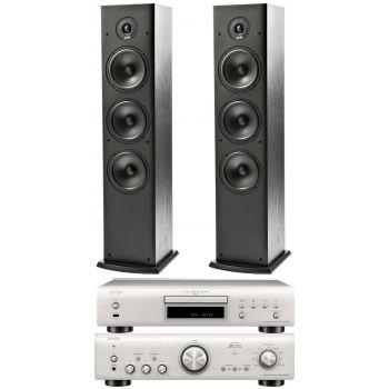 Denon PMA-800AE Silver +DCD800 Silver+Polk Audio T 50. Sistema 800/T50  Conjunto Sonido