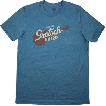 Gretsch G6120 T-Shirt Deep Teal Talla L