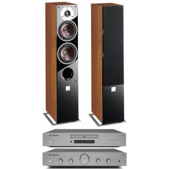 CAMBRIDGE AXA35 +AXC25+Zensor 5 walnut conjunto audio