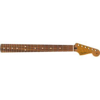 Fender Roasted Maple Stratocaster Neck 22 Jumbo PF. Mástil Guitarra