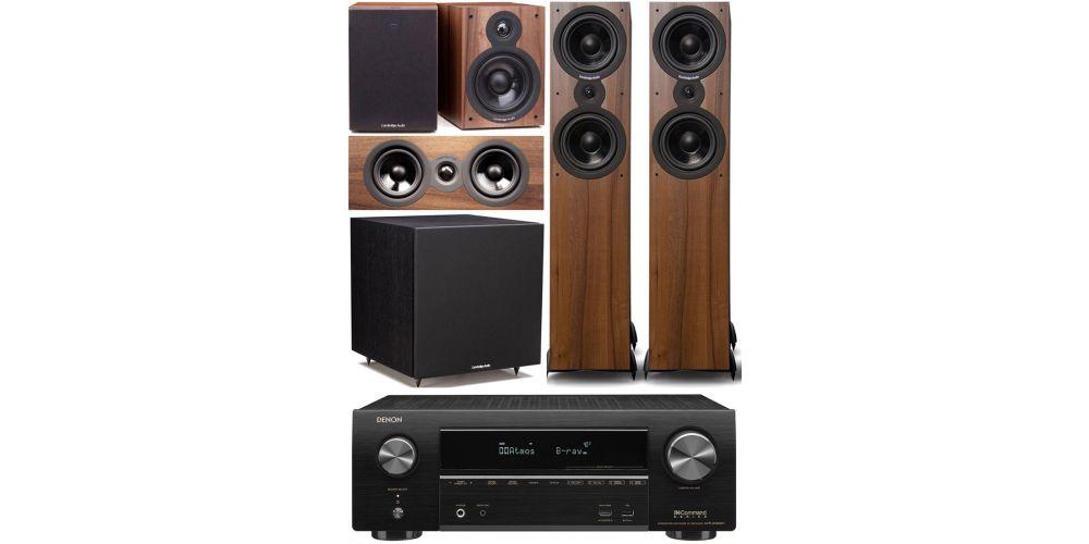 denon avrx1600 Cambridge Audio SX 80 cinema pack sx120