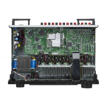 DENON AVR-X1600H + Cambridge SX80 Walnut Cinema Pack 5.1 Altavoces Home Cinema