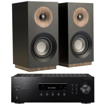PIONEER SX-10AE-B+Jamo S801 Black Conjunto Sonido