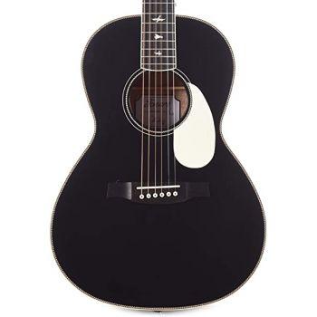 PRS SE P20E Parlour BV Satin Black Top Guitarra ElectroAcústica