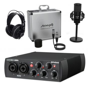 PreSonus AudioBox USB 96 Studio Set Bundle