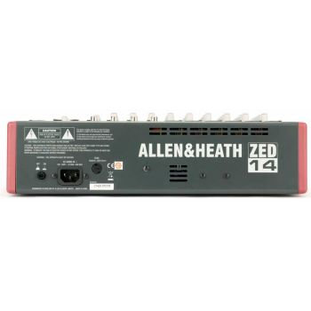 Allen & Heath ZED-14  Mezclador usb