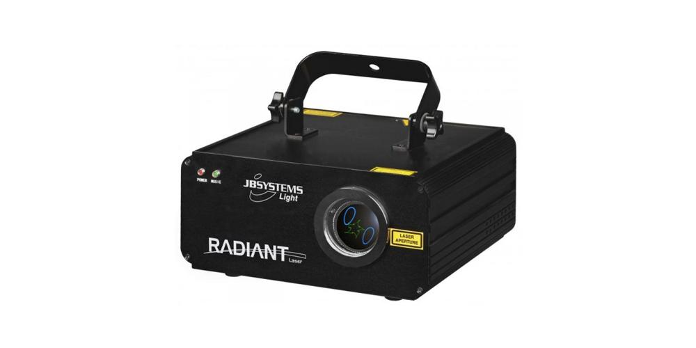 jbsystems radiant laser