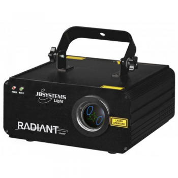 JBSYSTEMS RADIANT Laser Multihaz Azul y Verde
