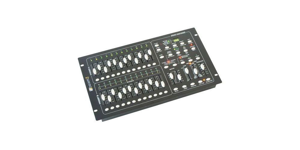 BEAMZ 154062 DMX-024PRO Panel de control de luces 24 canales Scene Se