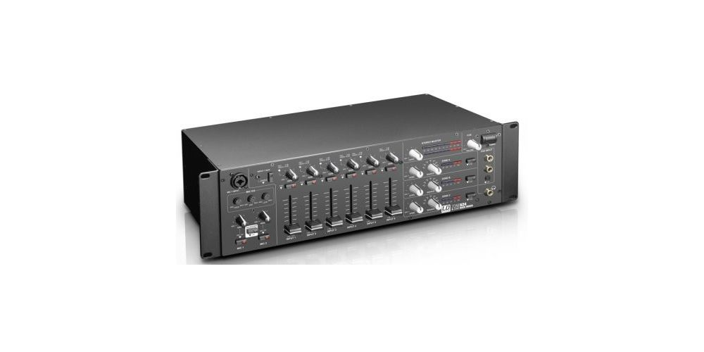 LDsystems ZONE624 mezclador zonas oferta