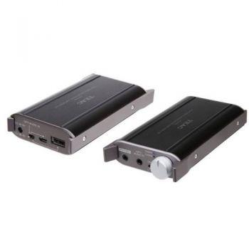 TEAC HA-P50 B Amplificador Auriculares, Negro