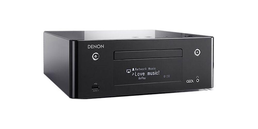 Minicadena Denon RCD N9 negro 2