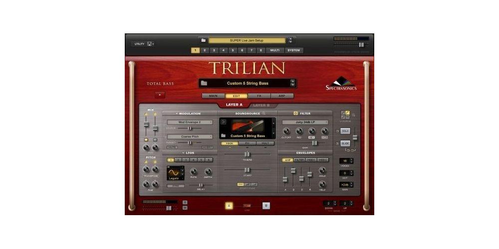 spectrasonics software trilian