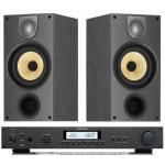ROTEL RA11 Black Amplificador Negro+B&W 685 Negro