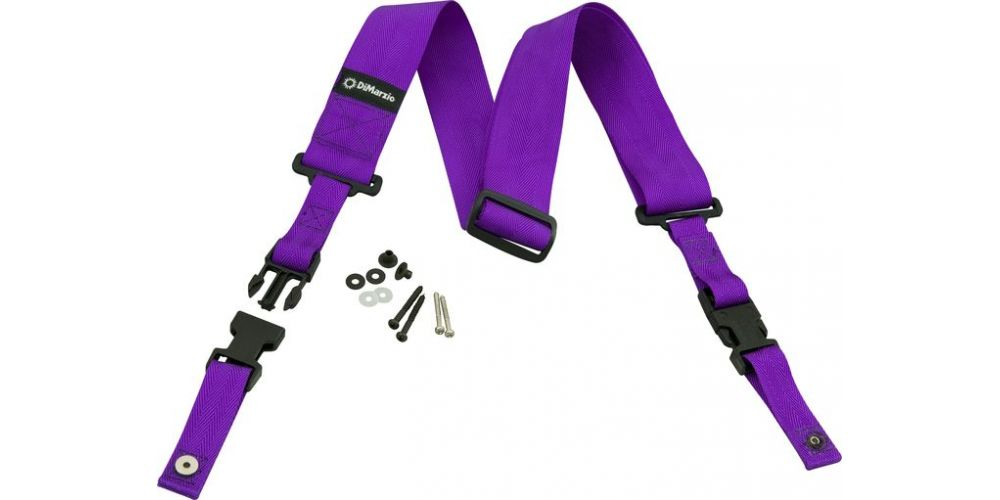 DiMarzio DD2200V Nylon Clip Lock Violeta