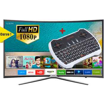 SAMSUNG UE40K6300 Tv Led 40 CURVA Smart TV + Mando Qwerty Smart Touch Pad