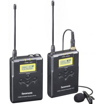 Saramonic UWMIC15 Sistema inalámbrico UHF digital de 16 canales