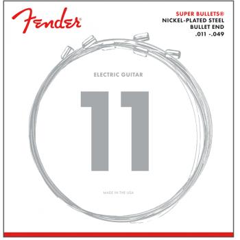 Fender Cuerdas Super Bullet Acabado Niquel 3250M