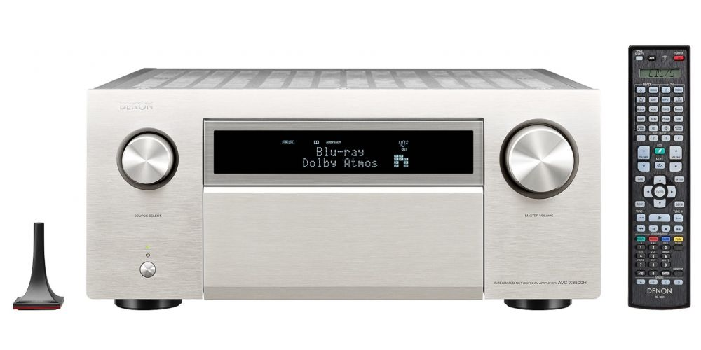 denon avc 8500h silver amplificador audio video mando
