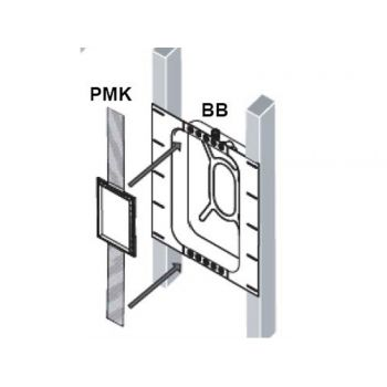 B&W BB6W+PMK W5 Unida. Caja de Cierre y Kit de preinastalacion