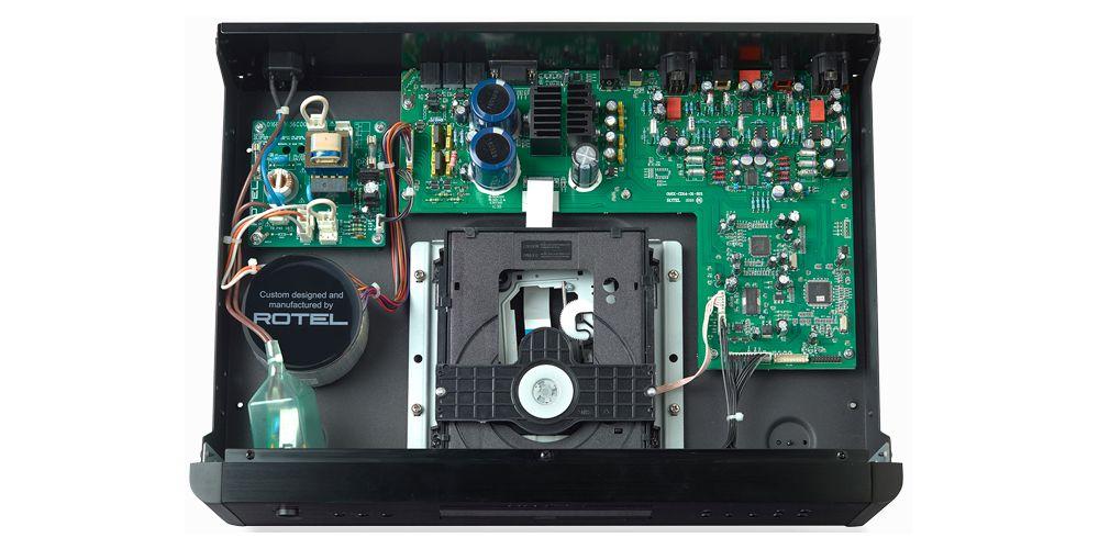 rotel rcd1572 componentes fabricacion