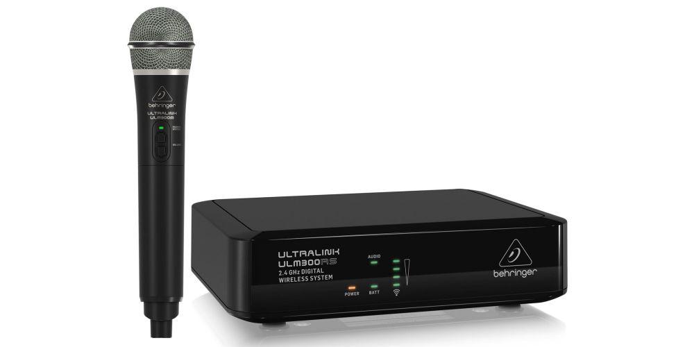 behringer ulm 300mic micrófono inalambrico